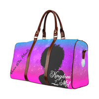 Black Girl Magic Waterproof Travel Bag/Small