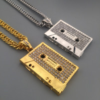 Stylish Shiny Jewelry New Arrival Gift Hot Sale Fashion Hip-hop Club Necklace [6542719875]