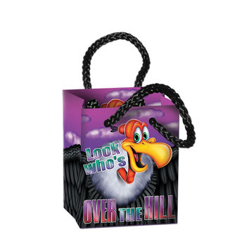 Over-The-Hill Mini Gift Bag Party Favors 2 1/2 x 3 1/4 x 1 3/4 (4 Ct)- Pack of 12