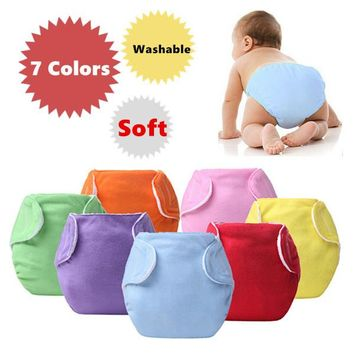 3pcs Lot Baby Diapers Children Cloth Diaper Reusable Nappies Adjustable Diaper Cover Washable Free Shipping