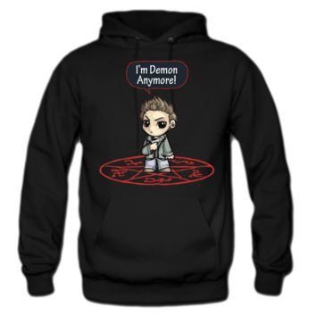 i am demon anymore Hoodie