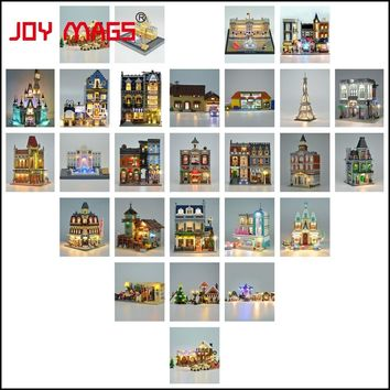 JOY MAGS All Led Light Kit For Creator/Disney/Ideas/Simpsons/Architecture (NOT Include Model)