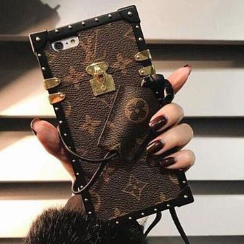 LV 2017 Hot ! iPhone 8 iPhone 8 Plus - Stylish Cute On Sale Hot Deal Matte Couple Phone Case For iphone 6 6s 6plus 6s plus iPhone 7 iPhone 7 plus