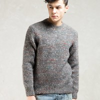 Paul Smith Red Ear Grey Red Ear Crewneck Sweater | HBX.