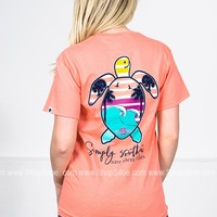 Save Them Turtles | Neon Peach | Simply Southern