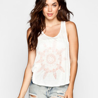 Rip Curl Paddle Out Womens Tank White  In Sizes