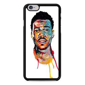 Acrylic Painting Of Chance The Rapper iPhone 6/6s Case