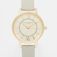 Olivia Burton Wonderland Grey Midi Dial Watch