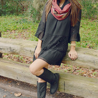 You're A Rockstar Dress: Black