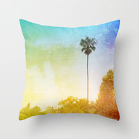Westside Throw Pillow by InstaCases