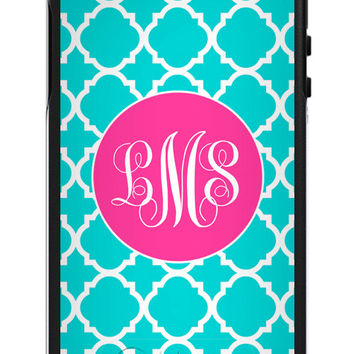 Custom OTTERBOX Symmetry iPhone 6 6 Plus 5 5S Case - Lattice - Monogrammed OtterBox iPhone - Personalized Phone Case