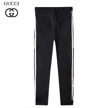 Boys & Men GUCCI Fashion Casual Pants Trousers Sweatpants