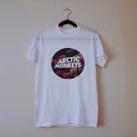 artic monkeys (rose) tee from WitherWisp