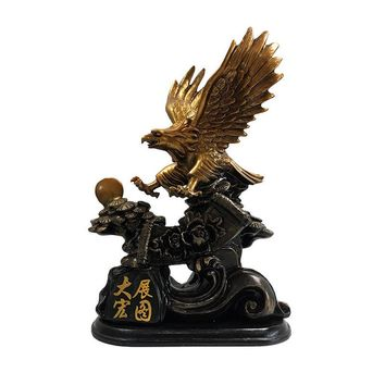 1PCS Eagles display grand design office decoration office work table tennis Feng Shui handicrafts decorative gifts LU530507