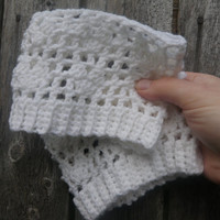 womens boot socks, white heart cuffs, custom sizes free USA shipping!