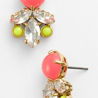 Juicy Couture 'Haute Hue' Stone Cluster Earrings