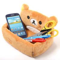 Rilakkuma Plush Storage Trays