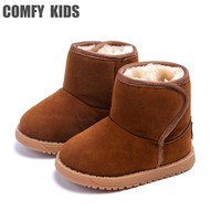 Plush Warm Baby toddler boots shoes child snow boots shoes for boys girls winter snow boots comfy kids baby toddler shoes