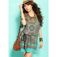 Summer casual bohemian women dresses