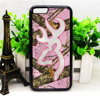 Browning Buckmark Pink Camo White Beach Towel iPhone 6 | 6 Plus | 6S | 6S Plus Cases haricase.com
