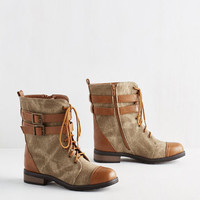 Safari I'll Be Buckle Soon Boot by ModCloth