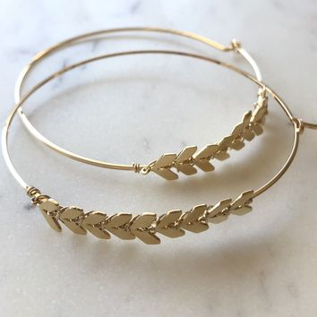 Limited Edition Arrow Hoops