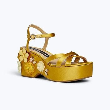 Callie Embellished Wedge Sandal | Marc Jacobs