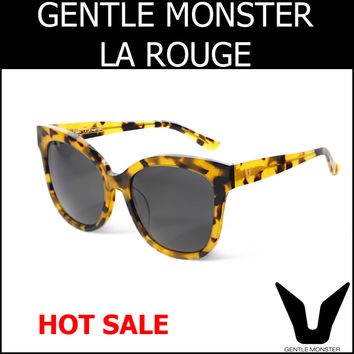 Gentle Monster La Rouge Sunglasses La Rouge Yellow Tortoise
