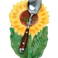 WalterDrake Sunflower Spoon Rest