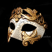 Mens Masquerade Mask for Men Roman Gladiator Thor - Masquerade Ball Mask for Man