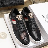 Versace  Fashion Men Casual Running Sport Shoes Sneakers Slipper Sandals