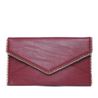Amaris Red Clutch