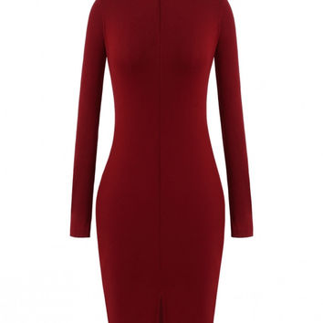 Tia Turtleneck Dress