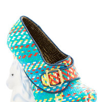Irregular Choice Quirky Never Myth a Beat Heel