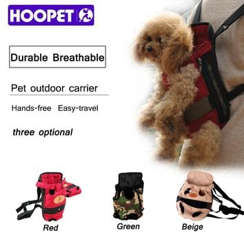Backpacks rucksacks carrier fashion red color dog breathable puppy