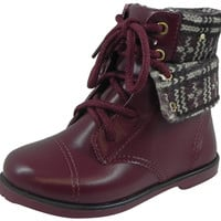 Pampili Girl's Rubi Bota Boot Cherry