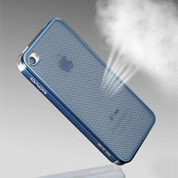 Titanium Mesh Hollow iPhone 4/4S Case on Luulla