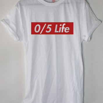 One Direction 0/5 Twitter Followers Tee