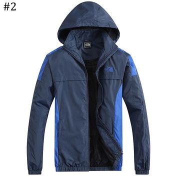 The North Face 2018 new trend hooded waterproof and windproof jacket #2