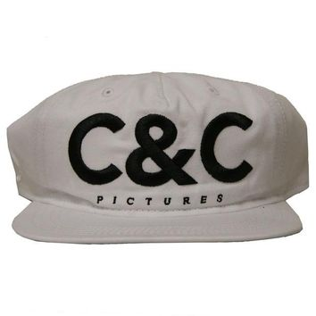 ONETOW Crooks & Castle C&C Picture Snapback In White