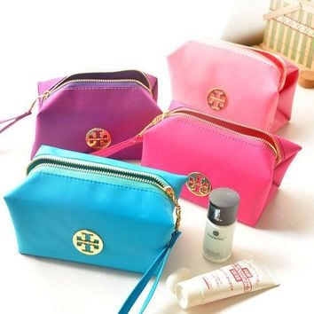 Tory Burch Fashion Portable Travel Pouch Makeup Bag Cosmetic Bag I11938-1