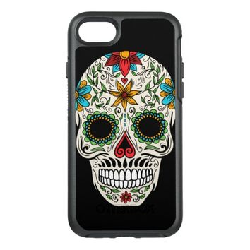 Day Dead Sugar Skull OtterBox Symmetry iPhone 7 Case