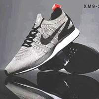 Nike Air Zoom Mariah Flyknit Casual Sports Shoes Sneakers B-A-BM-YSHY Grey