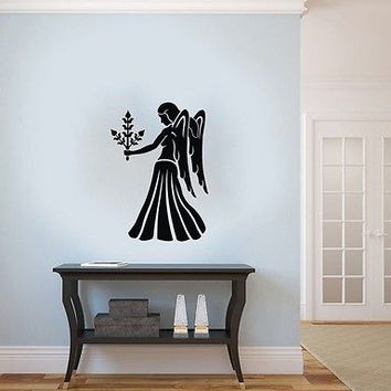 WALL VINYL STICKER DECAL ART DESIGN Virgo Horoscope Star Sign Zodiac SV2333