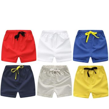 Children Summer Shorts Cotton Shorts For Boys Girls Brand Shorts Toddler Panties Kids Beach Short Sports Pants Baby Clothing