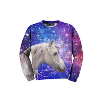 Galaxy Unicorn Kid's Sweatshirt - READY TO SHIP