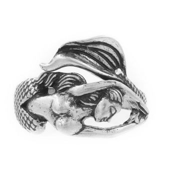 Swimming Mermaid Ring