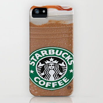 Starbucks Frappuccino iPhone & iPod Case by Chase Keeling