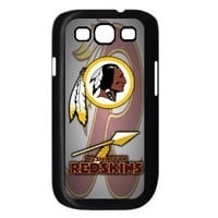 Fitted Samsung Galaxy S3 i9300 Cases NFL Redskins logo back covers