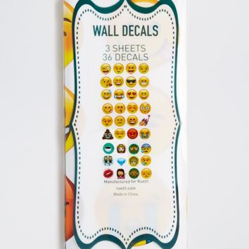 Emoji Wall Decals Wall Decals Rue From Rue - Emoji wall decals